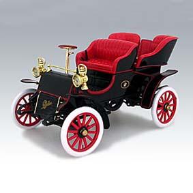 Cadillac Runabout (1903) somente na cor vermelha
