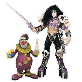 Paul Stanley & Clown (Psycho Circus)