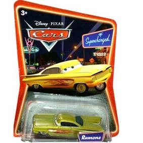 Cars Ramone (Amarelo)