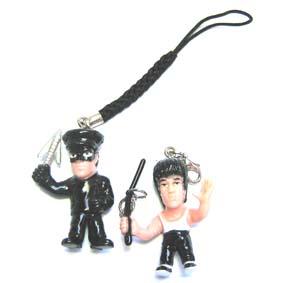 Chaveiro Bruce Lee e Kato (aberto)