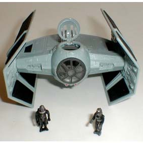 Lord Vaders Tie fighter (aberto)