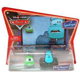 Cars Mike e Sulley