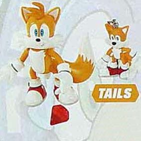 Tails + chaveiro (aberto)