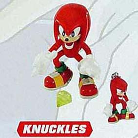 Knuckles + chaveiro (aberto)