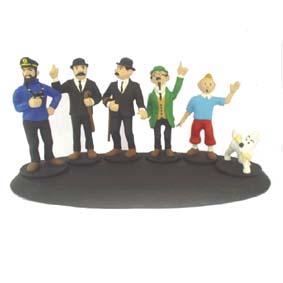 Tintin conjunto c/ 6