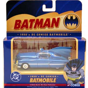 Batmobile 1950 DC Comics Batmóvel escala 1/43 Raridade