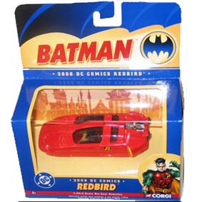 Robin Red Bird Car