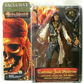 Jack Sparrow Cannibal (Dead Man Chest) Johnny Depp