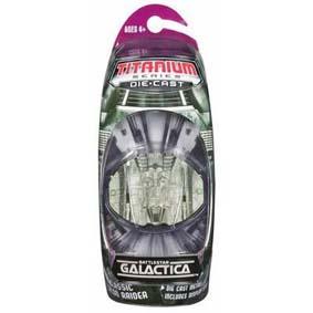 Galactica Titanium Classic Cylon Raider