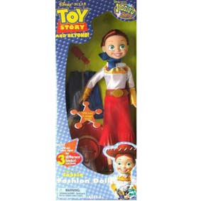 Jessie 3 visuais (Toy Story)