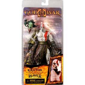 Kratos (c/ cabeça da Medusa)