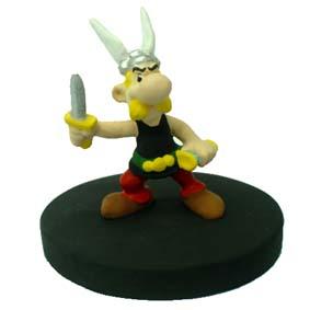 Asterix c/ faca