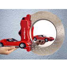 Espelho de parede disco de freio