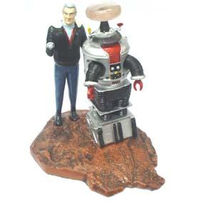 Dr. Smith e robô B-9