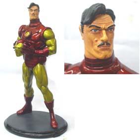 Homem de Ferro metálico s/ capacete