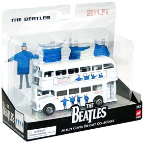 Ônibus Beatles Collectors Album Cover Help