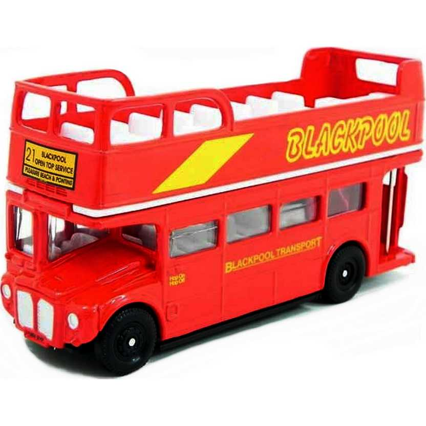 Ônibus inglês 2 andares (Routemaster - London Bus) Oxford escala 1/76 OXFRM099