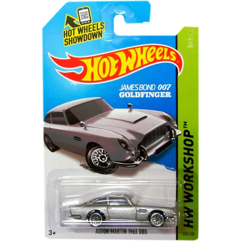 007 Goldfinger Hot Wheels James Bond Aston Martin DB5 (1965) 200/250 BFF99 1/64