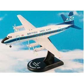 Avião Vicker Viscount 800 British