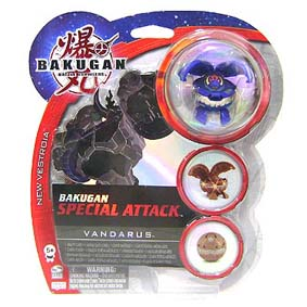 Bakugan Special Attack Vandarus azul