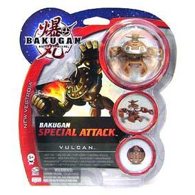 Bakugan Special Attack Vulcan marrom