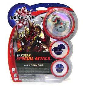 Bakugan Special Attack Dragonoid cinza