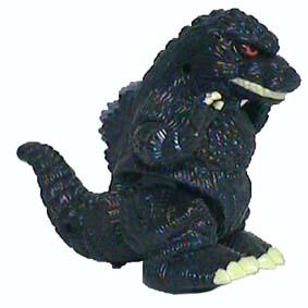 Godzilla Motorizado (1998) na caixa