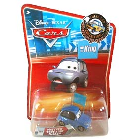 Cars Matthew True Blue McCrew (Carros Disney)