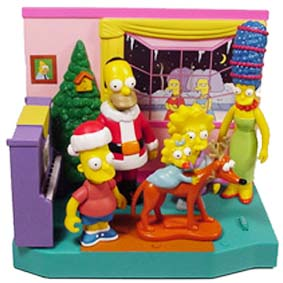 Bonecos Os Simpsons de Natal (The Simpsons Family Christmas)