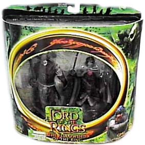 Bonecos do Senhor dos Anéis Uruk-hai Warrior Vs Gimli
