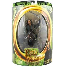 Boneco Aragorn Personagem do Filme O Senhor dos Anéis