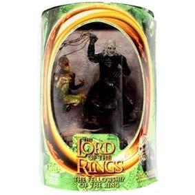Boneco Orc Overseer com newborn Uruk