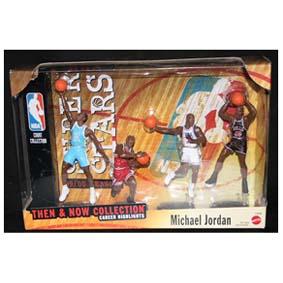 4 Bonecos NBA do Michael Jordan Then and Now