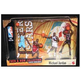 4 Bonecos NBA do Michael Jordan Then and Now