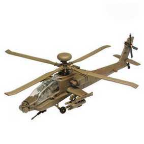 Helicóptero AH-64 Apache Longbow Marrom