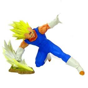 Boneco do Dragon Ball Z não articulado Super Saiyan Vegeta 4