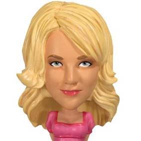 The Big Bang Theory Penny : Funko Bobble-Head Wacky Wobbler
