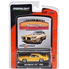 1/64 Greenlight Muscle Car Garage R10 12680 Pontiac GTO Judge (1970)