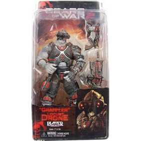 Grappler Locust Drone (série 3) Neca Toys Gears of War Action Figures