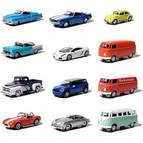 12 Greenlight Motor World Collectibles série 5 R5 96050 carrinhos escala 1/64