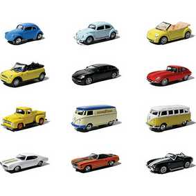 12 Greenlight Motor World Collectibles série 6 R6 96060 carrinhos na escala 1/64