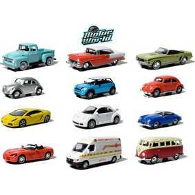 12 Miniaturas da Greenlight Motor World série 4 R4 96040 escala 1/64