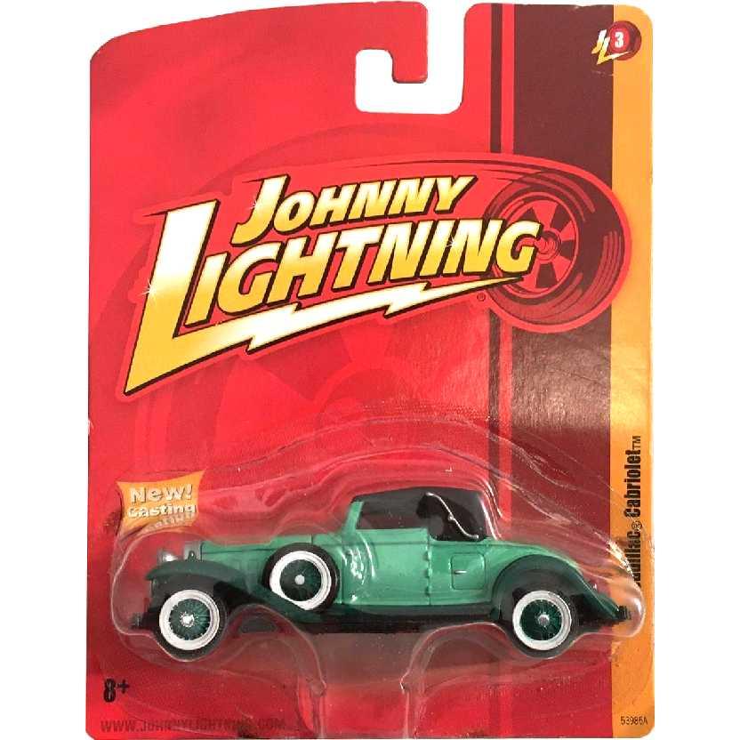1931 Cadillac Cabriolet marca Johnny Lightning 53985A Release 3 escala 1/64