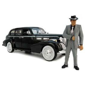 1940 Cadillac Fleetwood series 75 com Don Vito ( The Godfather ) Marlon Brando