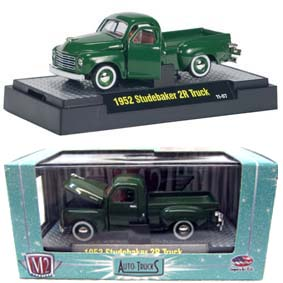 1952 Studebaker 2R Pickup Truck M2 Machines escala 1/64