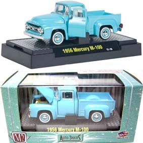 1956 Mercury M-100 Pickup Truck Miniaturas M2 Machines escala 1/64