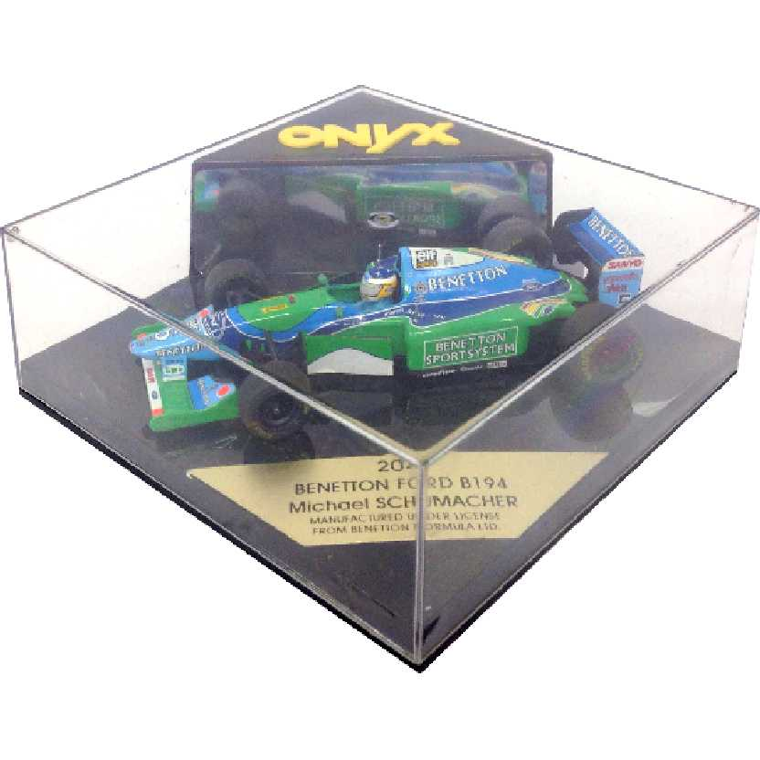 1994 World Champion F1 Benetton Ford B194 Michael Schumacher Onyx #204 escala 1/43