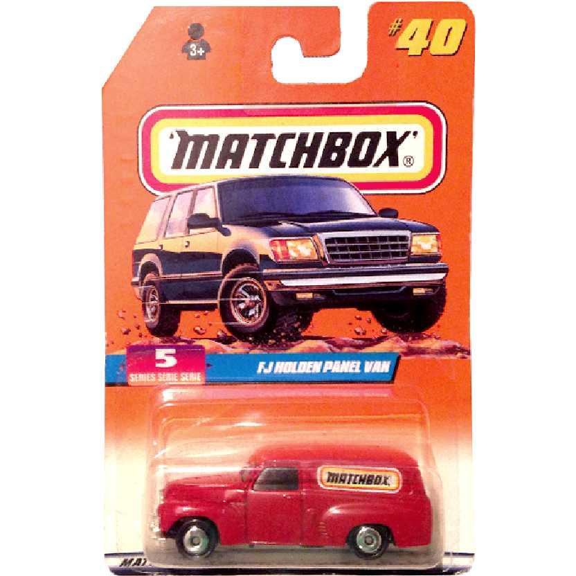 1997 Matchbox FJ Holden Panel Van #40 escala 1/64