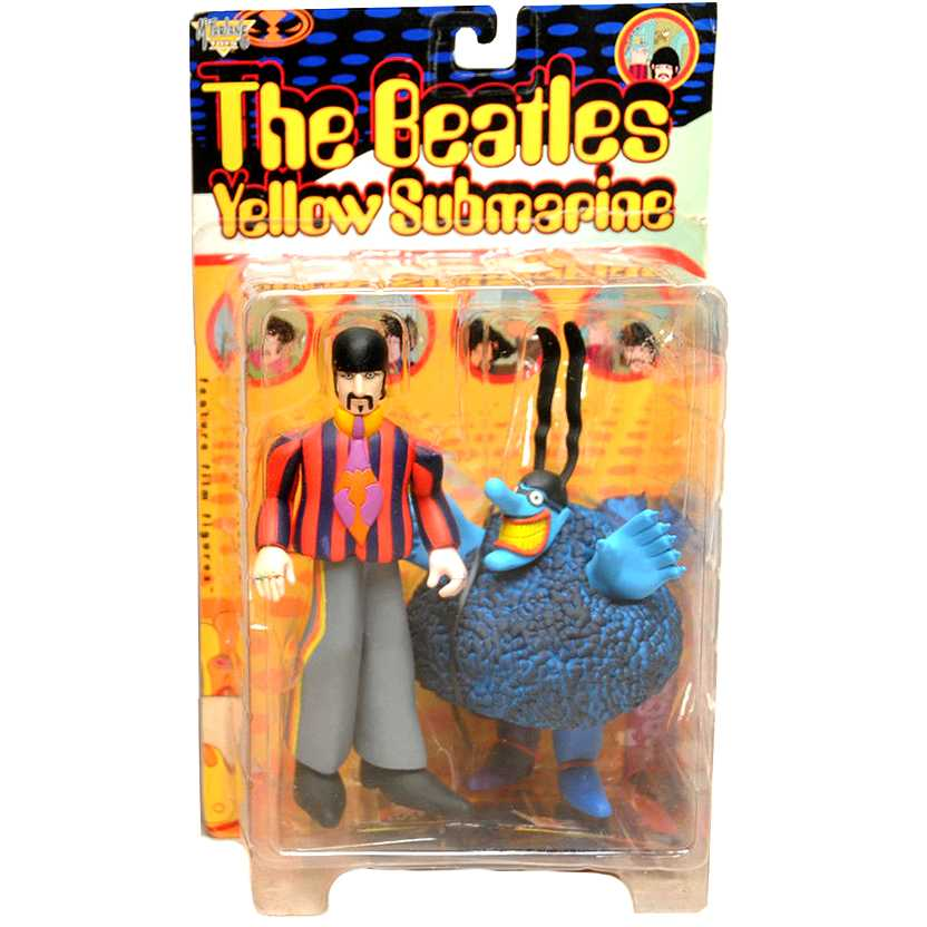 1999 The Beatles Yellow Submarine - Ringo Starr with Blue Meanie McFarlane Action Figure
