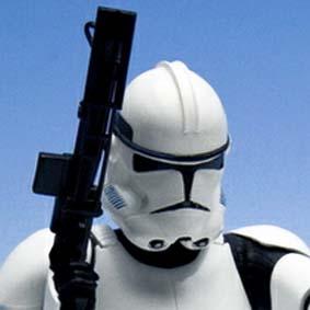 2 Bonecos Kotobukiya Star Wars ArtFX Clone Troopers escala 1/10